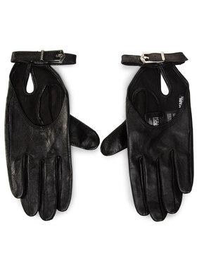 KARL LAGERFELD KARL LAGERFELD Dámske rukavice 206W3602 Čierna