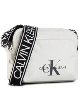 Calvin Klein Jeans Calvin Klein Jeans Kabelka Camera Bag W/Pckt K60K606868 Bílá