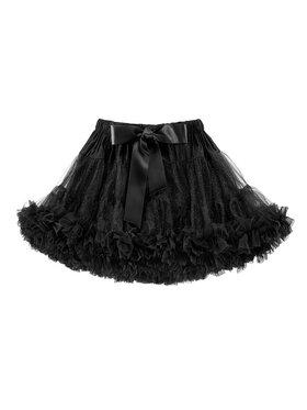 LaVashka LaVashka Spódnica 14-B Czarny Regular Fit
