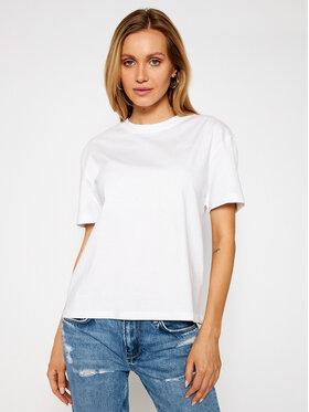 Pepe Jeans Pepe Jeans Marškinėliai Eva PL504854 Balta Regular Fit