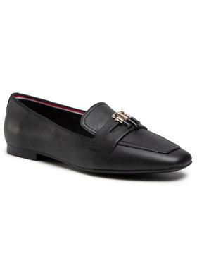 Tommy Hilfiger Tommy Hilfiger Lordsy Essential Leather Loafer FW0FW05684 Čierna