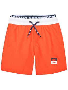 Timberland Timberland Pantaloncini da bagno T24B43 S Arancione Regular Fit