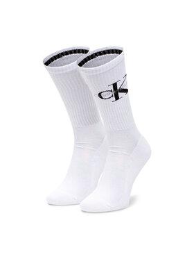 Calvin Klein Jeans Calvin Klein Jeans Pánské klasické ponožky 100001816 Bílá