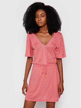 Banana Moon Banana Moon Φόρεμα παραλίας Piggots Caraiva JEC93 Ροζ Regular Fit