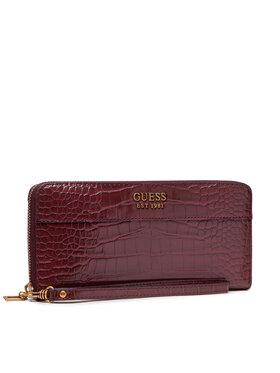 Guess Guess Veľká dámska peňaženka Katey(Cb) Slg SWCB78 70460 Bordová