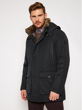 Bugatti Bugatti Parka 672813 69034 Μαύρο Regular Fit