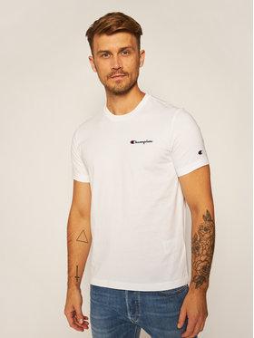 Champion Champion T-Shirt Tee 214727 Biały Comfort Fit