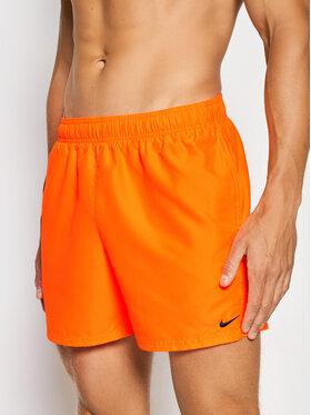 Nike Nike Plavecké šortky Essential NESSA560 Oranžová Regular Fit