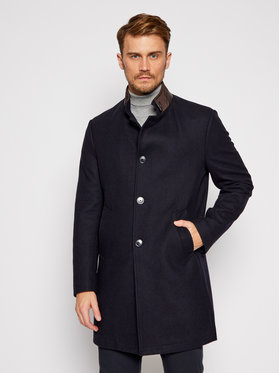 Roy Robson Roy Robson Μάλλινο παλτό 3995-98 Σκούρο μπλε Regular Fit