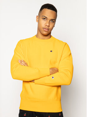 Champion Champion Sweatshirt Crewneck 214676 Orange Custom Fit