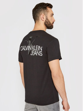 Calvin Klein Jeans Calvin Klein Jeans T-Shirt J30J317507 Černá Regular Fit