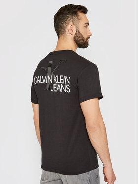 Calvin Klein Jeans Calvin Klein Jeans Tričko J30J317507 Čierna Regular Fit