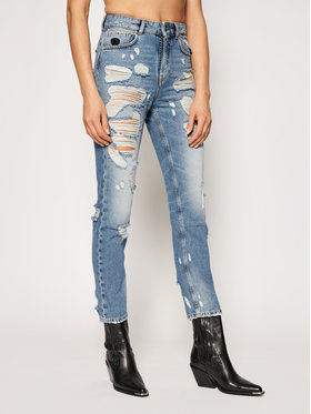 John Richmond John Richmond Jeans Lana RWP21196JE Blau Straight Fit