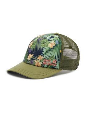 Jack Wolfskin Jack Wolfskin Καπέλο Jockey Paradise Cap 1909381 Πράσινο