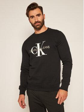 Calvin Klein Jeans Calvin Klein Jeans Bluza Monogram Logo J30J314313 Czarny Regular Fit