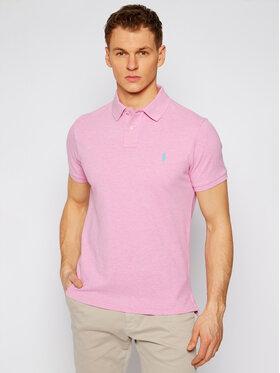 Polo Ralph Lauren Polo Ralph Lauren Тениска с яка и копчета Classics 710536856270 Розов Slim Fit