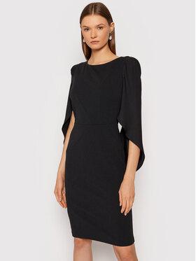 Rinascimento Rinascimento Sukienka koktajlowa CFC0105059003 Czarny Regular Fit