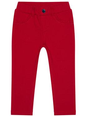 Mayoral Mayoral Spodnie materiałowe 560 Czerwony Super Skinny Fit