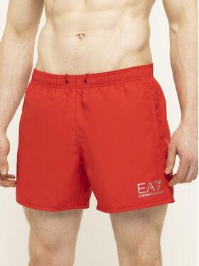 EA7 Emporio Armani EA7 Emporio Armani Pantaloni scurți pentru înot 902000 CC721 00074 Roșu Regular Fit