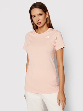 The North Face The North Face T-shirt Simple Dome NF0A4T1A Narančasta Regular Fit