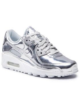 Nike Nike Boty Air Max 90 Sp CQ6639 001 Stříbrná
