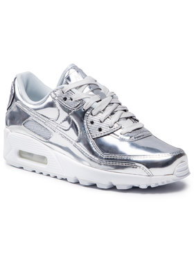 Nike Nike Buty Air Max 90 Sp CQ6639 001 Srebrny