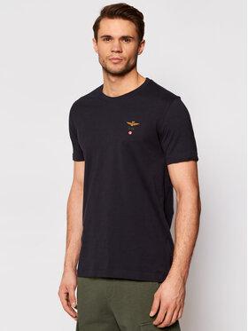 Aeronautica Militare Aeronautica Militare T-Shirt 211TS1580J372 Dunkelblau Regular Fit