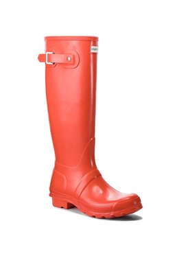 Hunter Hunter Guminiai batai Org Tall Gloss WFT1000RGL Oranžinė