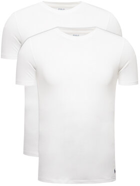 Polo Ralph Lauren Polo Ralph Lauren Komplet 2 t-shirtów 714621944 Biały Slim Fit
