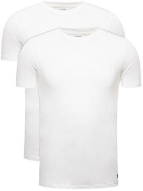 Polo Ralph Lauren Polo Ralph Lauren Set 2 tricouri 714621944 Alb Slim Fit