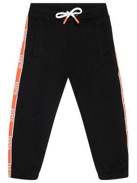 Guess Guess Pantaloni trening N1RQ03 KA6R0 Negru Regular Fit