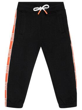Guess Guess Teplákové nohavice N1RQ03 KA6R0 Čierna Regular Fit