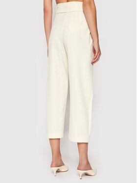 Marella Marella Spodnie materiałowe Agone 31360116 Beżowy Regular Fit