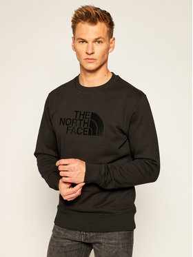 The North Face The North Face Pulóver Drew Peak Crew NF0A4SVRJK31 Fekete Regular Fit