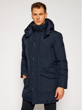 Tommy Hilfiger Tailored Tommy Hilfiger Tailored Parka Eco Down TT0TT08565 Tmavomodrá Regular Fit