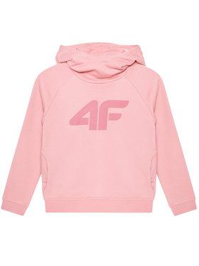 4F 4F Mikina HJL21-JBLD002A Růžová Regular Fit