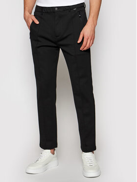 Calvin Klein Calvin Klein Kalhoty z materiálu K10K106550 Černá Tapered Fit