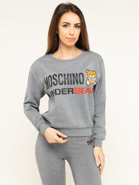 Moschino Underwear & Swim Moschino Underwear & Swim Felpa A1709 9026 Grigio Regular Fit