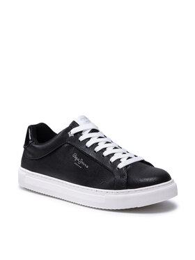 Pepe Jeans Pepe Jeans Sneakersy Adams Collins PLS31199 Černá