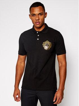 Versace Jeans Couture Versace Jeans Couture Тениска с яка и копчета B3GWA75F Черен Regular Fit