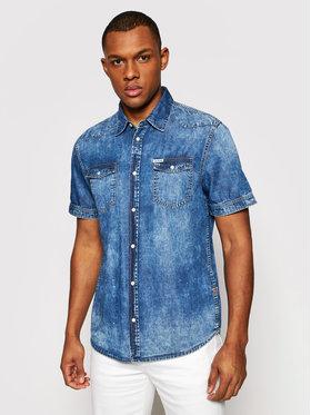 Guess Guess Košile M1GH27 D4CF1 Modrá Slim Fit