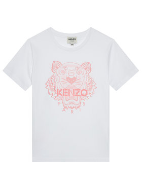 Kenzo Kids Kenzo Kids T-Shirt K15100 S Bílá Regular Fit