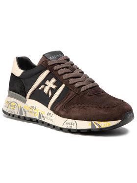 Premiata Premiata Sneakersy Lander 4142 Brązowy