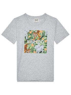 Kenzo Kids Kenzo Kids T-Shirt K25101 S Γκρι Regular Fit