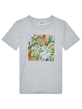 Kenzo Kids Kenzo Kids T-Shirt K25101 S Šedá Regular Fit