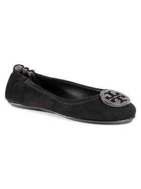 Tory Burch Tory Burch Ballerines Minnie Travel Ballet With Pave 79197 Noir
