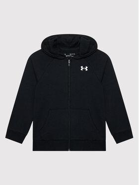 Under Armour Under Armour Sweatshirt Ua Rival Cotton Full Zip 1357613 Noir Loose Fit