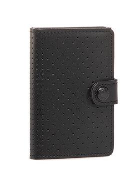 Secrid Secrid Малък мъжки портфейл Miniwallet Perforated MPF Черен