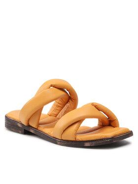 Carinii Carinii Mules / sandales de bain B6135 Orange