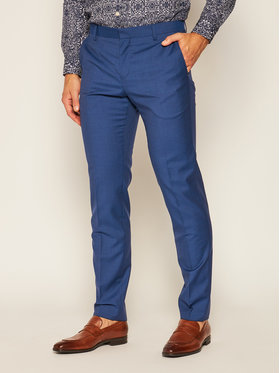 Tommy Hilfiger Tailored Tommy Hilfiger Tailored Pantaloni de costum Fks Separate TT0TT07511 Bleumarin Slim Fit